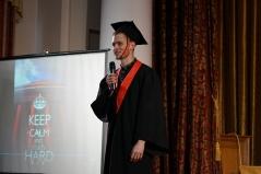Церемонія вручення дипломів магістрам факультету психології 2019