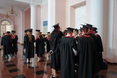 Церемонія вручення дипломів магістрам факультету психології 2019_2