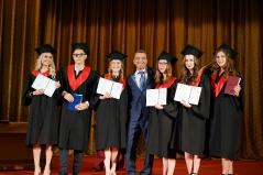 Церемонія вручення дипломів магістрам факультету психології 2019_8