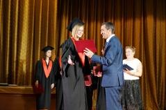 Церемонія вручення дипломів магістрам факультету психології 2019_4